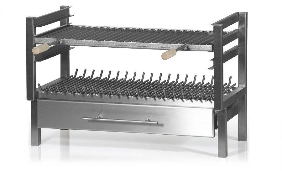 edelstahlgrilleinsatz f r offene feuerstellen ri. Black Bedroom Furniture Sets. Home Design Ideas